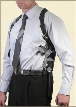 ФОРТ - 21.02.03 Оперативная подплечная кобура с подсумком для запасного магазина (нейлон)