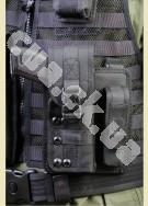 ФОРТ - 14 Тактическая модульная кобура с подсумком для запасного магазина (нейлон)