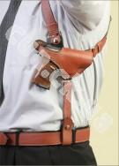 ZORAKI Оперативная подплечная универсальная кобура (кожа)