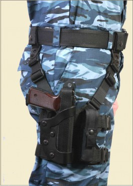 АПС Тактическая набедренная кобура (нейлон)
