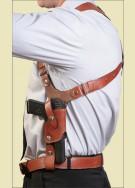 ТТ Оперативная подплечная кобура (кожа)