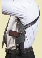 АПС Оперативная подплечная кобура (кожа)