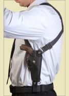 НАГАН (короткий ствол) Оперативная подплечная универсальная кобура (нейлон)